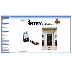 secuENTRY 7094 ABFeWo Software Schließplan