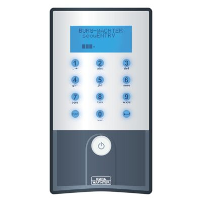 BURG-WÄCHTER Keypad secuENTRY pro 5711 PIN frontal